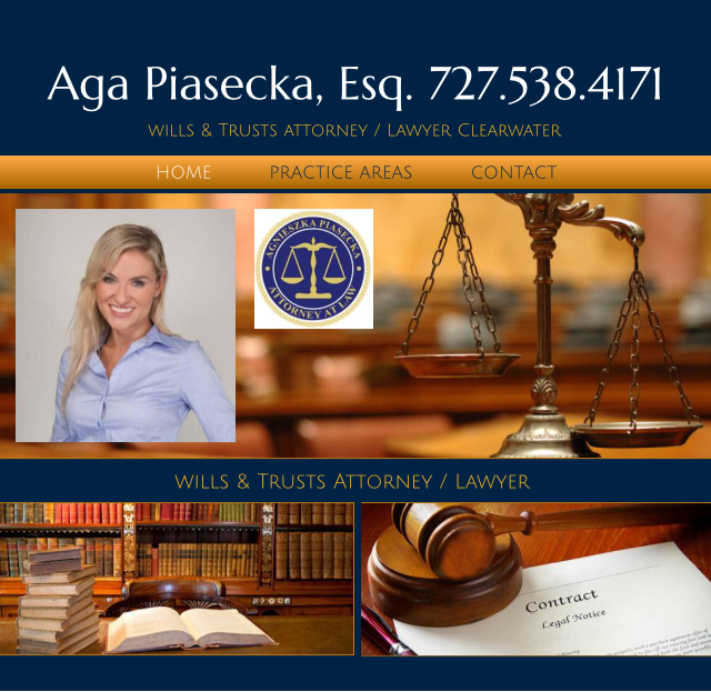 wills & Trusts attorney / Lawyer Clearwater